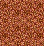 Dekorativ sömlös modell för hem- dekor Textur för vektorbakgrundsblomma Hösten färgar Arkivbild