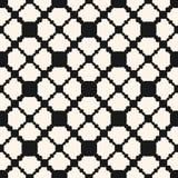 Dekorativ seamless modell Geometrisk textur f?r vektor med snidit galler royaltyfri illustrationer