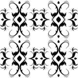dekorativ seamless tegelplatta royaltyfri illustrationer
