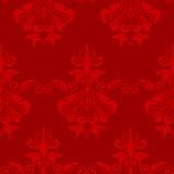 dekorativ seamless tegelplattawallpaper Fotografering för Bildbyråer