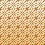 dekorativ seamless wallpaper Royaltyfri Foto