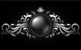 dekorativ sköld Arkivfoto