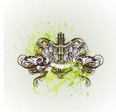 dekorativ sköldtappning Royaltyfri Foto