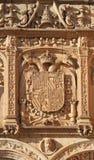 dekorativ sniden facade Royaltyfria Foton