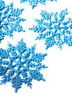 dekorativ snowflake Arkivbild