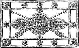 Dekorativ spisgaller Arkivbild