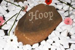 Dekorativ sten Fotografering för Bildbyråer