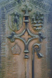 dekorativ sten för carvings royaltyfri foto
