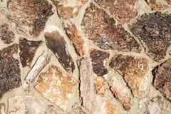 dekorativ stentexturvägg Arkivbilder