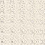 Dekorativ stilfull streckad linje bakgrund för materielvektor Arkivfoto