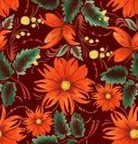 Dekorativ stiliserad blomma vektor illustrationer