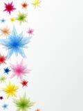 Dekorativ stjärnabakgrund Royaltyfri Fotografi