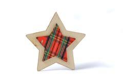 dekorativ stjärna för jul Arkivbilder