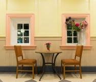 Dekorativ stol för skrivbord två Fotografering för Bildbyråer