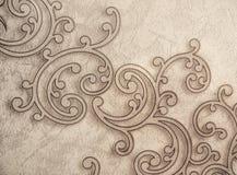 Dekorativ tapet för modell arkivbild