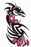dekorativ tatuering Royaltyfria Bilder