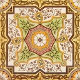 dekorativ tegelplatta Arkivfoto