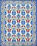 Dekorativ tegelplatta för ottoman kalkon Fotografering för Bildbyråer