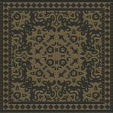 Dekorativ tegelplatta frambragd textur Arkivbilder