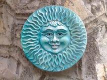 Dekorativ terrakottasol Royaltyfria Bilder