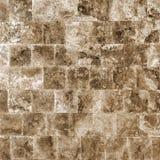 Dekorativ texturerad bakgrundsvägg av marmortegelplattor Royaltyfri Fotografi