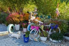 dekorativ trädgård royaltyfri bild