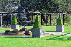 Dekorativ trädgård Arkivfoto