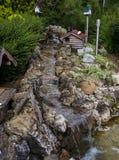 Dekorativ trädgård i natur Royaltyfri Foto