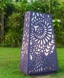Dekorativ trädgårds- lampa Royaltyfria Bilder