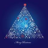 dekorativ tree för jul Arkivbilder