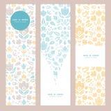 Dekorativ tulpantextil för abstrakt tappning Royaltyfri Foto