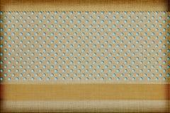 Dekorativ tygbakgrund Royaltyfri Fotografi