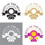 Dekorativ utmärkelseram Royaltyfri Fotografi