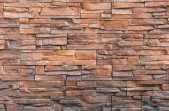 Dekorativ utomhus- tegelplatta Textur för tegelplatta för vägg för väggtegelplattategelsten för bakgrund Royaltyfri Foto