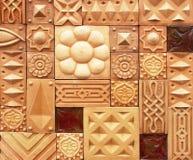 dekorativ vägg Arkivbilder