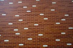 dekorativ vägg för tegelsten Fotografering för Bildbyråer