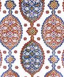 Dekorativ vägggarnering för ottoman Arkivfoton