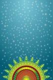 dekorativ vektor för jul vektor illustrationer