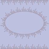 Dekorativ vektorram Fotografering för Bildbyråer