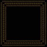 Dekorativ vektorram Royaltyfri Foto