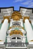 dekorativ vinter för st för slottpetersburg lättnad Royaltyfria Foton