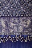 Dekorativ Wallpaper Royaltyfri Foto