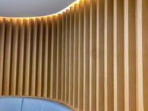 Dekorativ Wood vägg Arkivfoto