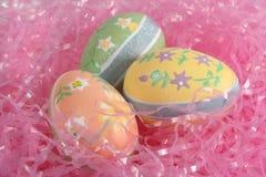 dekorativa ägg Fotografering för Bildbyråer