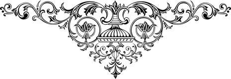 dekorativa 5 stock illustrationer