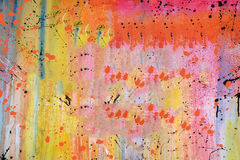 Dekorativa bakgrunder för målarfärgtappninggrunge Royaltyfri Bild