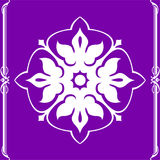 Dekorativa beståndsdelar för designer Royaltyfri Bild