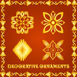 Dekorativa beståndsdelar för designer Royaltyfri Foto