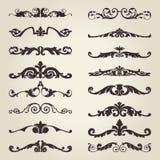 Dekorativa beståndsdelar för tappning Royaltyfri Foto