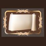 Dekorativa beståndsdelar i tappningstil stock illustrationer